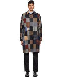 Beams Plus マルチカラー ステンカラー コート