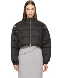 3.1 Phillip Lim - Black Cropped Puffer Ski Coat - Lyst