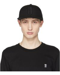 Boris Bidjan Saberi 11 - Black New Era Edition Logo Cap - Lyst