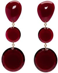 Isabel Marant - Red Bright Earrings - Lyst