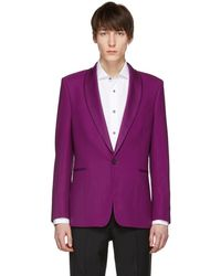 Paul Smith - Purple Shawl Lapel Blazer - Lyst