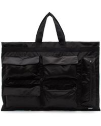 Raf Simons - Black And Blue Eastpak Edition Poster Tote - Lyst