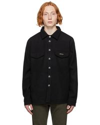 Axel Arigato ブラック Tait オーバーシャツ ジャケット
