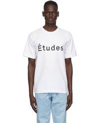 Etudes Studio - ホワイト Wonder T シャツ - Lyst