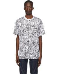 DOUBLE RAINBOUU ホワイト Liger T シャツ