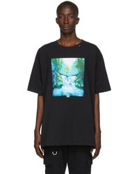 Off-White c/o Virgil Abloh ブラック And マルチカラー Waterfall T シャツ