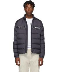 Moncler - 'servieres' Logo Patch Down Puffer Jacket - Lyst