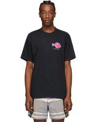 Noah - ブラック Flounder Shop T シャツ - Lyst