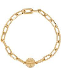 Lanvin Gold Arpege Necklace - Metallic