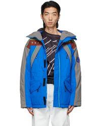 Martine Rose ブルー Epoch 2 ジャケット