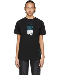 Off-White c/o Virgil Abloh Black Dripping Arrows T-shirt