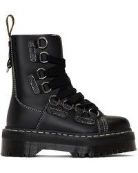 Dr. Martens - Black Jadon Xl Boots - Lyst