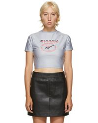 MISBHV Grey Reebok Edition Cropped T-shirt