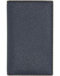 Valextra Porte-cartes bleu marine Business