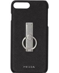 Prada - Iphone 8 Plus Leather Case - Lyst