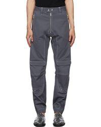 GmbH Pantalon Yolanda gris en sergé