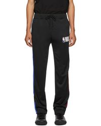 Marcelo Burlon Nba Edition ブラック トラック パンツ