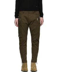 DSquared² | Green Sexy Safari Cargo Trousers | Lyst