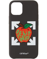 Off-White c/o Virgil Abloh ブラック & レッド Apple Iphone 12 Mini ケース