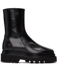 Peter Do - ブラック コンバット ブーツ - Lyst