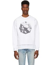Enfants Riches Deprimes - White Erd Sweatshirt - Lyst