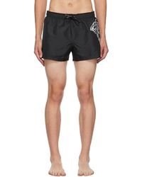 Versace Black Medusa Swim Shorts