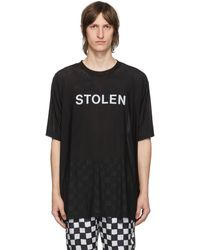 Stolen Girlfriends Club Ssense 限定 ブラック Razor T シャツ