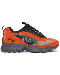 all in Ssense Exclusive Orange Astro Trainers