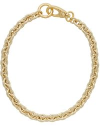 Laura Lombardi Gold Cable Chain Necklace - Multicolor
