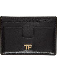 Tom Ford ブラック Tf カード ケース