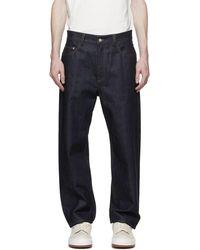 Sunnei Denim Classic Jeans - Blue