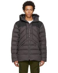 The North Face - Grey Down Cryos Jacket - Lyst