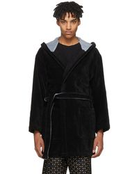 Fendi | Black Bag Bugs Bath Robe | Lyst