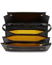 Marni Black Snake Trunk Wallet Shoulder Bag