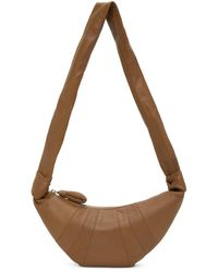 Lemaire Ssense Exclusive Tan Small Croissant Bag - Brown