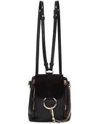 Chloé - Small Faye Backpack - Lyst