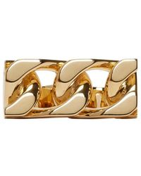 Marc Jacobs - Gold Double-link Ring - Lyst