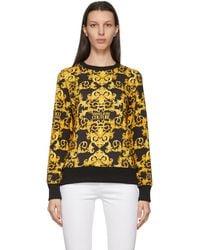 Versace Jeans Couture - ブラック Baroque スウェットシャツ - Lyst