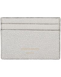 Common Projects - White Cracked Multi Card Holder - Lyst
