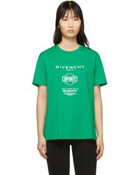 Givenchy - グリーン Spirit T シャツ - Lyst