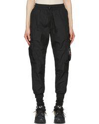 Li-ning Black Cargo Pants