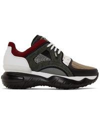Fendi Multicolor Fancy Sneakers - Black
