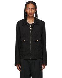 BED j.w. FORD Black Ensemble Zip Jacket