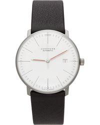 Junghans シルバー & ホワイト Automatic Max Bill Bauhaus 腕時計 - マルチカラー