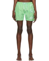 BOSS Green Logo Swim Shorts