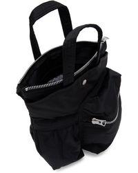 Sacai - Porter Edition ブラック スモール ポケット バッグ - Lyst