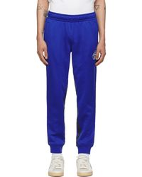Rhude Puma X Rhuigi エディション ブルー ロゴ トラック パンツ