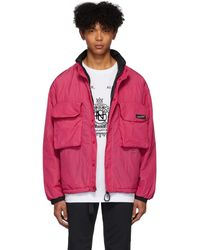 Nanamica リバーシブル ピンク インシュレーション ジャケット