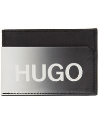 HUGO ブラック Achromatic カード ホルダー