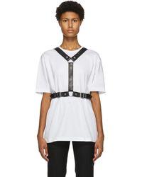 Junya Watanabe ホワイト Harness 2 T シャツ